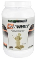 NutriForce Sports - NutriWhey All Natural Whey Protein Powder Vanilla - 2 lbs. (755244017122)