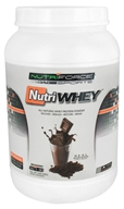 NutriForce Sports - NutriWhey All Natural Whey Protein Powder Belgian Chocolate - 2 lbs. - $25.04