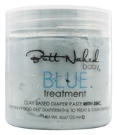 Butt Naked Baby - Blue Paste Diaper Rash Treatment With Zinc - 4 oz.