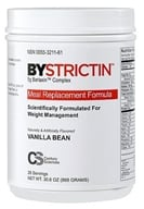 Century Sciences - Bystrictin Meal Replacement Formula Vanilla Bean 28 Servings - 30.6 oz. - $71.99