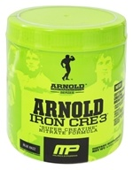Muscle Pharm - Arnold Schwarzenegger Series Arnold Iron CRE3 Blue Razz - 4.44 oz. by Muscle Pharm