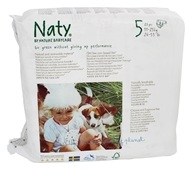 Image of Naty - Babycare Diapers Stage 5 (27+ lbs) - 23 Diaper(s)
