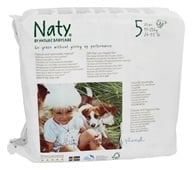 Naty - Babycare Diapers Stage 5 (27+ lbs) - 23 Diaper(s), from category: Baby & Child Health