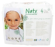 Naty - Babycare Diapers Stage 4 (22-37 lbs) - 27 Diaper(s) (7330933150170)