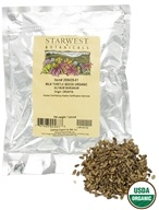Image of Starwest Botanicals - Bulk Milk Thistle Seeds Whole Organic - 1 lb.
