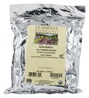 Starwest Botanicals - Bulk Kelp Powder Organic - 1 lb., from category: Health Foods