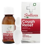 Image of Similasan - Cough Relief Cough & Fever Syrup - 4 oz.