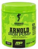 Muscle Pharm - Arnold Schwarzenegger Series Arnold Iron Pump Raspberry Lemonade - 6.35 oz.