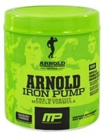 Muscle Pharm - Arnold Schwarzenegger Series Arnold Iron Pump Raspberry Lemonade - 6.35 oz. by Muscle Pharm