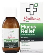Similasan - Mucus Relief Expectorant Syrup - 4 oz.