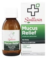 Similasan - Mucus Relief Expectorant Syrup - 4 oz. by Similasan