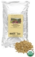 Starwest Botanicals - Bulk Coriander Seed Organic - 1 lb., from category: Health Foods