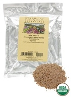 Starwest Botanicals - Bulk Psyllium Seed Whole Organic - 1 lb., from category: Nutritional Supplements