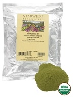 Starwest Botanicals - Bulk Spinach Powder Organic - 1 lb., from category: Health Foods