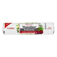 Quantum Health - Thera Zinc Echinacea Lozenges Cherry-Mint - 14 Count