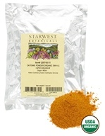 Starwest Botanicals - Bulk Cayenne Powder Organic 35K H.U. - 1 lb., from category: Health Foods