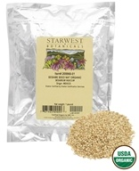 Starwest Botanicals - Bulk Sesame Seed Whole Organic - 1 lb., from category: Health Foods