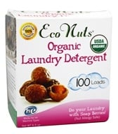 Eco Nuts - Organic Laundry Soap Nuts 100 Loads - 6.5 oz. by Eco Nuts