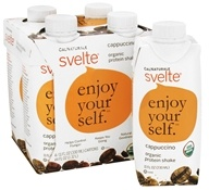 Cal Naturale - Svelte Organic Protein Shake 4 x 11 oz. RTD Cappuccino - 4 Pack, from category: Sports Nutrition
