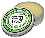Indigo Wild - Zum Rub Moisturizer Tea Tree-Citrus - 2.5 oz. (663204216051)