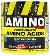 Promera Health - Amino Tren Concentrated Amino Acids Blue Raspberry 32 Servings - 150.4 Grams (682676772322)