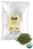 Starwest Botanicals - Bulk Spearmint Leaf C/S Organic - 1 lb., from category: Health Foods