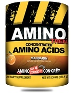 Promera Health - Amino Tren Concentrated Amino Acids Mandarin 32 Servings - 150.4 Grams (682676773329)