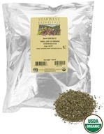Starwest Botanicals - Bulk Basil Leaf C/S Organic - 1 lb., from category: Health Foods