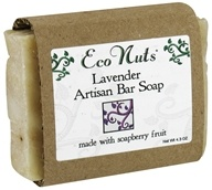 Eco Nuts - Artisan Bar Soap Lavender - 4.3 oz. by Eco Nuts