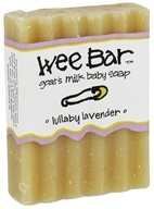 Image of Indigo Wild - Wee Bar Goat's Milk Baby Soap Lullaby Lavender - 3 oz.