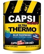 Promera Health - Capsi Blast Ultra Thermo Blue Raspberry 48 Servings - 86.4 Grams, from category: Sports Nutrition