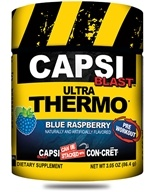 Image of Promera Health - Capsi Blast Ultra Thermo Blue Raspberry 48 Servings - 86.4 Grams