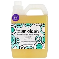 Indigo Wild - Zum Clean Aromatherapy Laundry Soap Sea Salt - 32 oz. (663204362307)