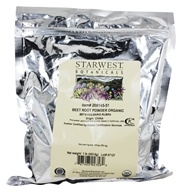 Starwest Botanicals - Bulk Beet Root Powder Organic - 1 lb., from category: Health Foods