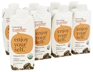 Cal Naturale - Svelte Organic Protein Shake 8 x 11 oz. RTD Cappuccino - 8 Pack, from category: Sports Nutrition