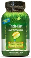 Irwin Naturals - Triple-Diet Max Accelerator - 72 Softgels (710363582463)