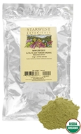 Starwest Botanicals - Bulk Alfalfa Leaf Powder Organic - 1 lb., from category: Health Foods