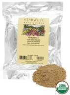 Starwest Botanicals - Bulk Flax Seed Organic - 1 lb., from category: Health Foods