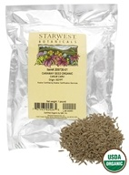Starwest Botanicals - Bulk Caraway Seed Organic - 1 lb., from category: Health Foods