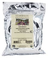 Image of Starwest Botanicals - Bulk Hawthorn Berries Whole Organic - 1 lb.