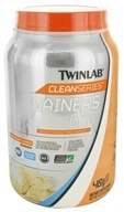 Twinlab - Clean Series Gainers 600 Mass Gainer French Vanilla - 3.2 lbs.