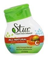 Stur - Water Enhancer with Stevia Purely Orange Mango - 1.9 oz.