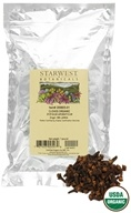 Starwest Botanicals - Bulk Cloves Whole Organic - 1 lb. by Starwest Botanicals