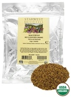 Starwest Botanicals - Bulk Red Clover Sprouting Seeds Organic - 1 lb. by Starwest Botanicals