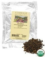 Image of Starwest Botanicals - Bulk Malabar Black Pepper Whole Organic - 1 lb.