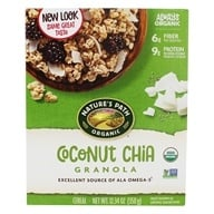Image of Nature's Path Organic - Chia Plus Coconut Chia Granola - 12.34 oz.