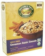 Image of Nature's Path Organic - High Fiber Granola Cinnamon Raisin - 12.34 oz.