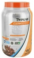 Twinlab - Clean Series Gainers 600 Mass Gainer Chocolate Milkshake - 3.2 lbs.