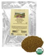 Starwest Botanicals - Bulk Alfalfa Sprouting Seeds Organic - 1 lb., from category: Health Foods
