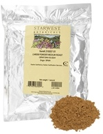 Starwest Botanicals - Bulk Carob Powder Medium Roast - 1 lb. by Starwest Botanicals
